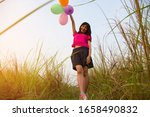 young woman happy joy with...   Shutterstock . vector #1658490832