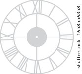 vintage roman laser cutting... | Shutterstock .eps vector #1658556358