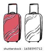 hand drawn vector illustration. ... | Shutterstock .eps vector #1658595712