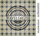wavelength arabic badge... | Shutterstock .eps vector #1658618302