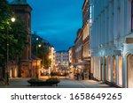 Oslo  Norway. Night View Of...