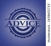 advice emblem with jean... | Shutterstock .eps vector #1658652715