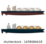 Lng Tankers Spherical Type....