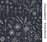 floral seamless pattern for... | Shutterstock .eps vector #1658694322
