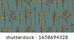 floral seamless pattern for... | Shutterstock .eps vector #1658694328