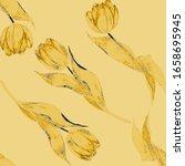 watercolor seamless pattern... | Shutterstock . vector #1658695945