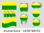 the flag of the hague ... | Shutterstock .eps vector #1658788552