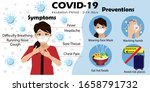 infographics of coronavirus ...   Shutterstock .eps vector #1658791732