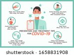 prevention and treatment tips... | Shutterstock .eps vector #1658831908