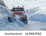 Machinery With Snowplough...