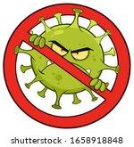 evil coronavirus  covid 19 ...   Shutterstock .eps vector #1658918848