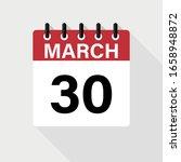 March 30   Calendar Icon....