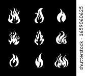 fire frame icon set... | Shutterstock .eps vector #1659060625