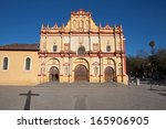 san cristobal cathedral in... | Shutterstock . vector #165906905