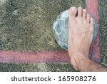 old ball put no conner in... | Shutterstock . vector #165908276