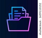 folder  file nolan icon. simple ...