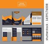 annual report brochure design...   Shutterstock .eps vector #1659176008