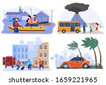 emergency evacuation victims of ...   Shutterstock .eps vector #1659221965