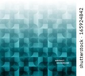 modern geometrical abstract... | Shutterstock .eps vector #165924842