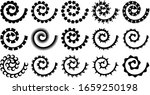 Rolled Paper Flowers Vector Set ...