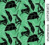 floral seamless pattern ...   Shutterstock .eps vector #1659281872