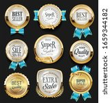 a collection of various badges... | Shutterstock . vector #1659344182