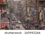 kathmandu   october 2  traffic... | Shutterstock . vector #165942266