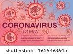 coronavirus   cov elements... | Shutterstock .eps vector #1659463645
