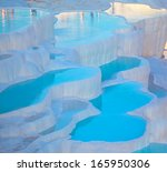 Turquoise Water Travertine...