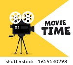 movie time flat concept... | Shutterstock .eps vector #1659540298
