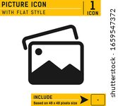 picture icon vector...