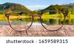 View Through Eyeglasses To...