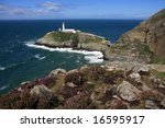 South Stack Lighthouse On An...