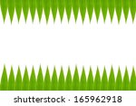 bamboo leaves frame high... | Shutterstock . vector #165962918