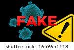 Concept Of Coronavirus Fake...