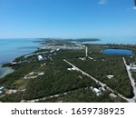 Aerial view of Tavernier Key Largo Florida