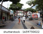 Entrance Arch To Chinatown San...