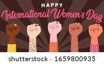 happy international women's day.... | Shutterstock .eps vector #1659800935