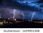 Four Lightning Bolt Strike...