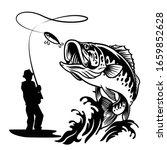 Fisherman Catching The Big...