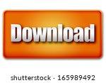 download 3d orange button...
