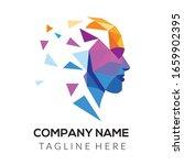 abstract people head logo ...   Shutterstock .eps vector #1659902395