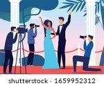 celebrities pair arrival flat... | Shutterstock .eps vector #1659952312