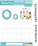 letter o uppercase and... | Shutterstock .eps vector #1659954475