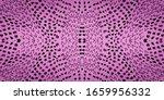 Seamless Pattern Snake. Violet...