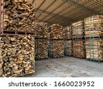 Stacks Of Firewood For...