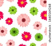 vector seamless pattern with... | Shutterstock .eps vector #1660164268