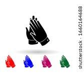 applause multi color icon....