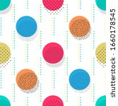 abstract geometric background... | Shutterstock .eps vector #1660178545