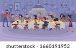 big family gathering together... | Shutterstock .eps vector #1660191952